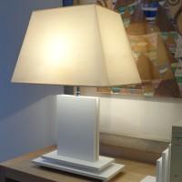 NAHUA blanc croco, A/J trapèze 35 cm blanc cassé
