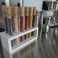 Orgue à épices 12 saveurs, Corian blanc